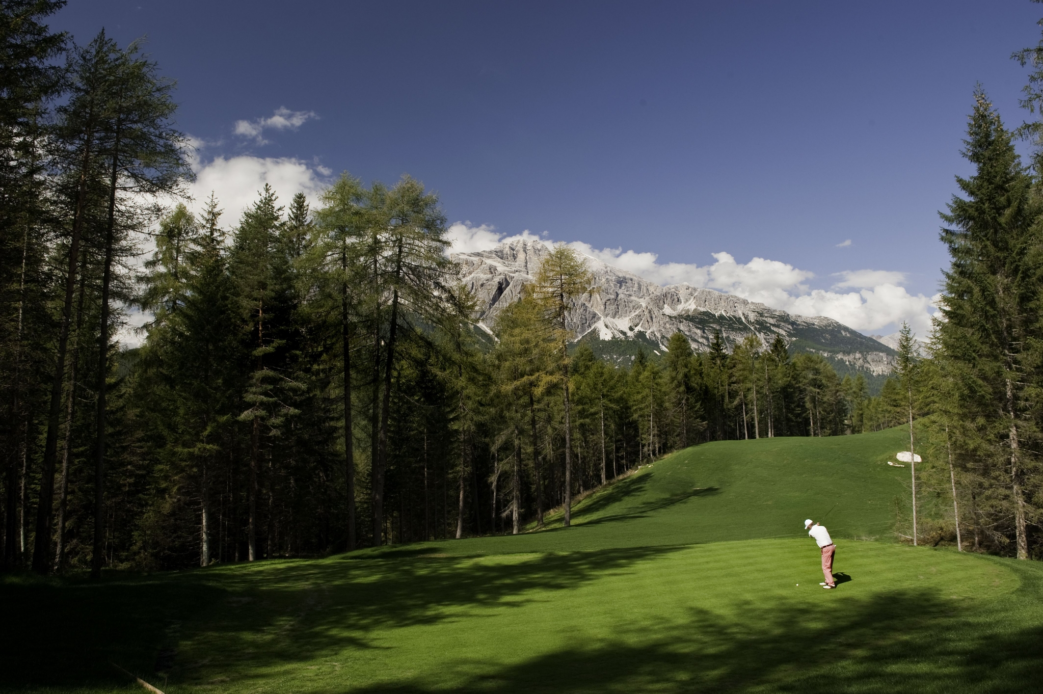golf in cortina